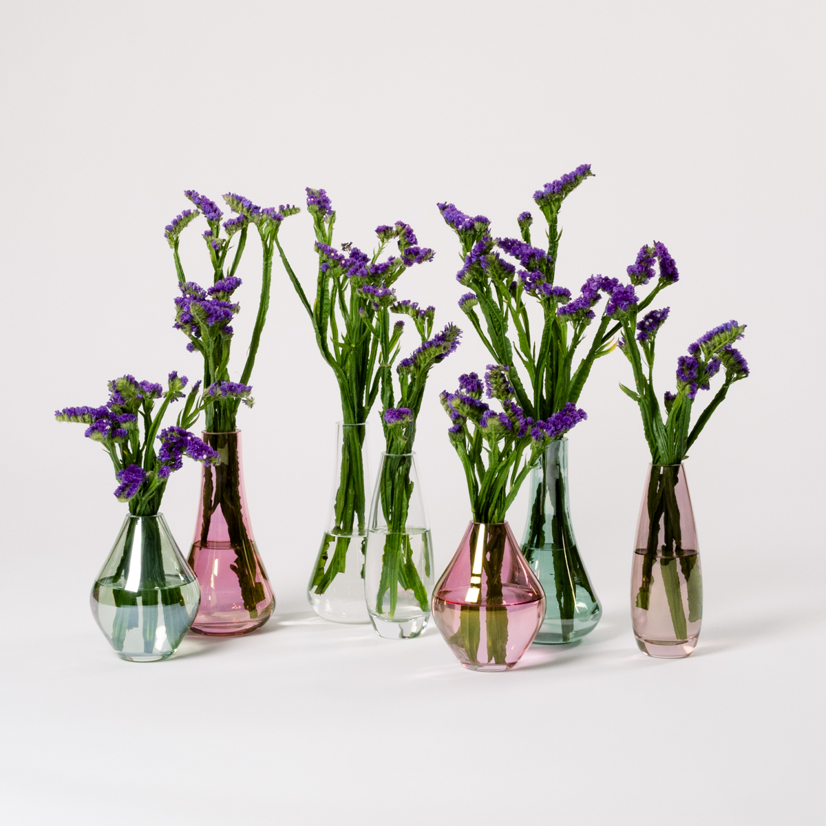 Bloom Flower Delivery | Sepia Glass Stem Vase