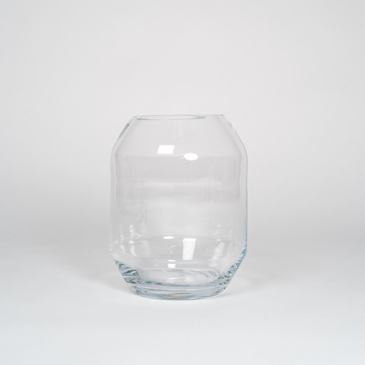 Bloom Flower Delivery | Clear Glass Geometric Vase & Storm Lantern