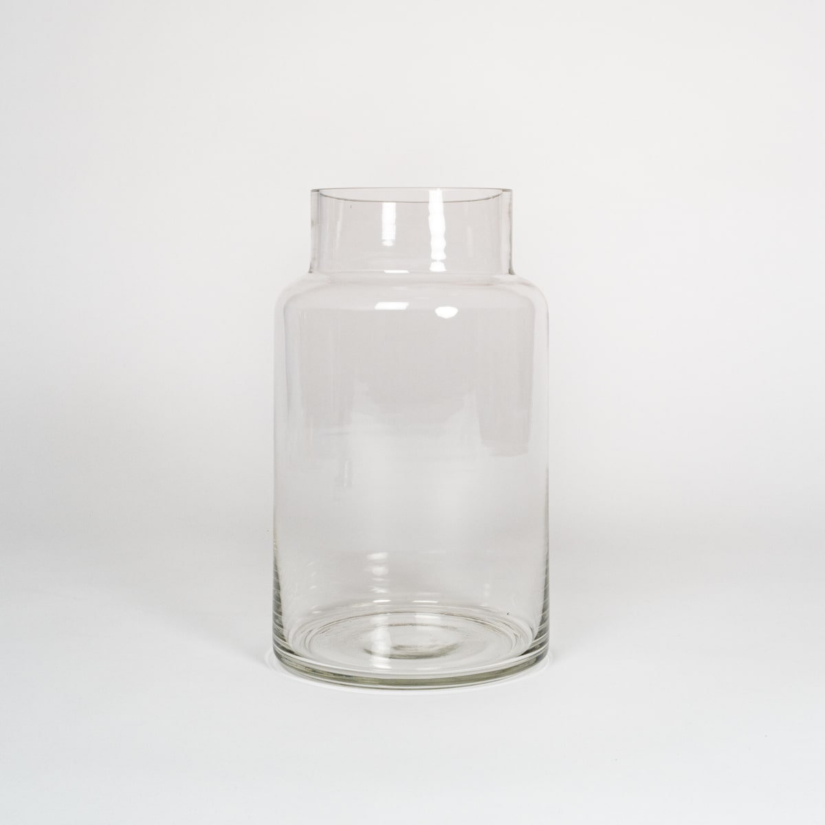 Bloom Flower Delivery | Tall Clear Glass Chimney Vase