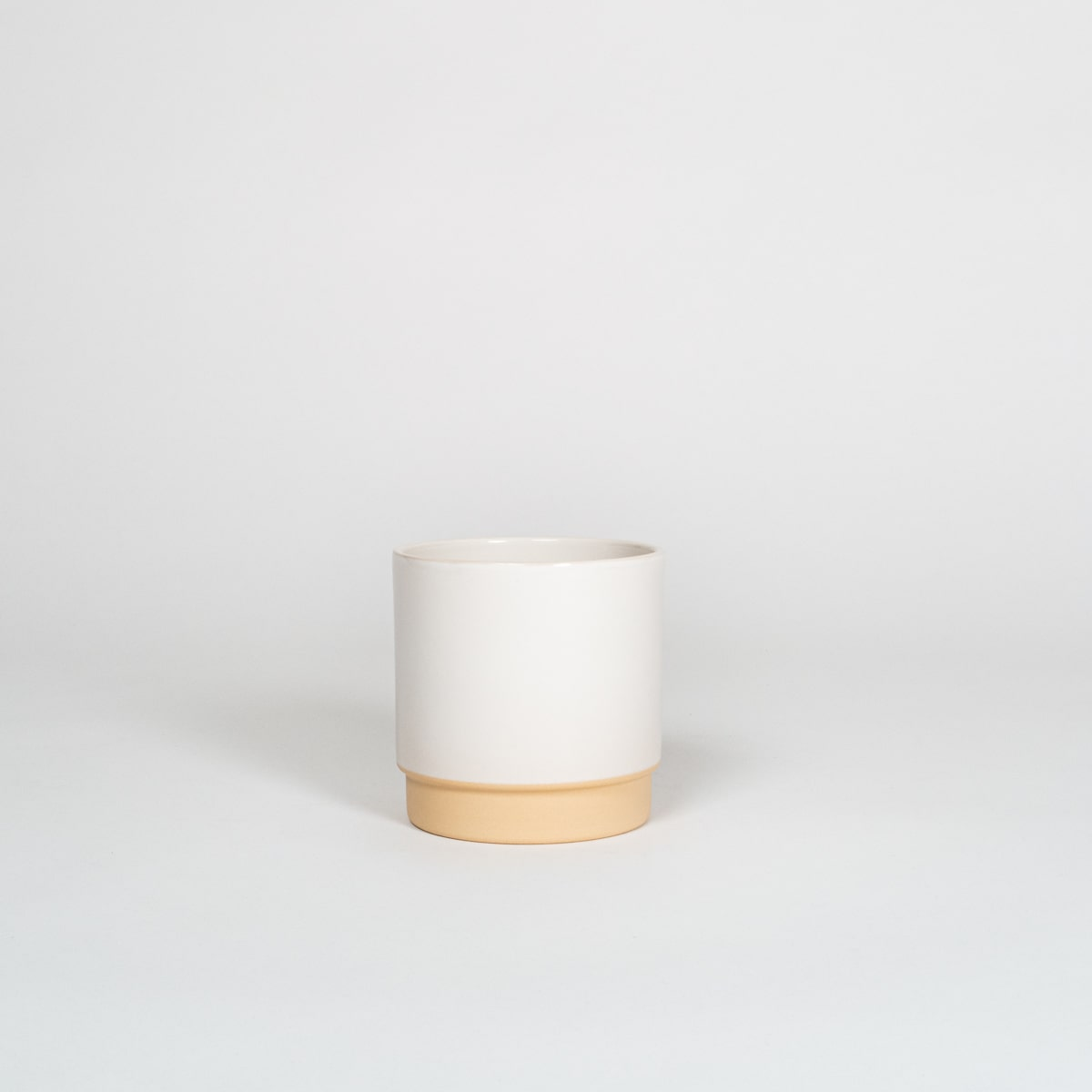 Bloom Flower Delivery | Polar White Ceramic Plant Pot