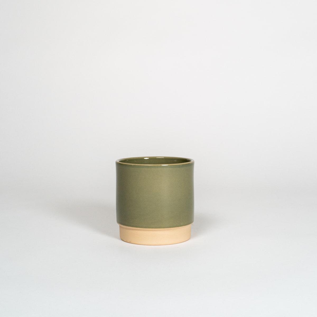Bloom Flower Delivery | Sage Green Ceramic Plant Pot