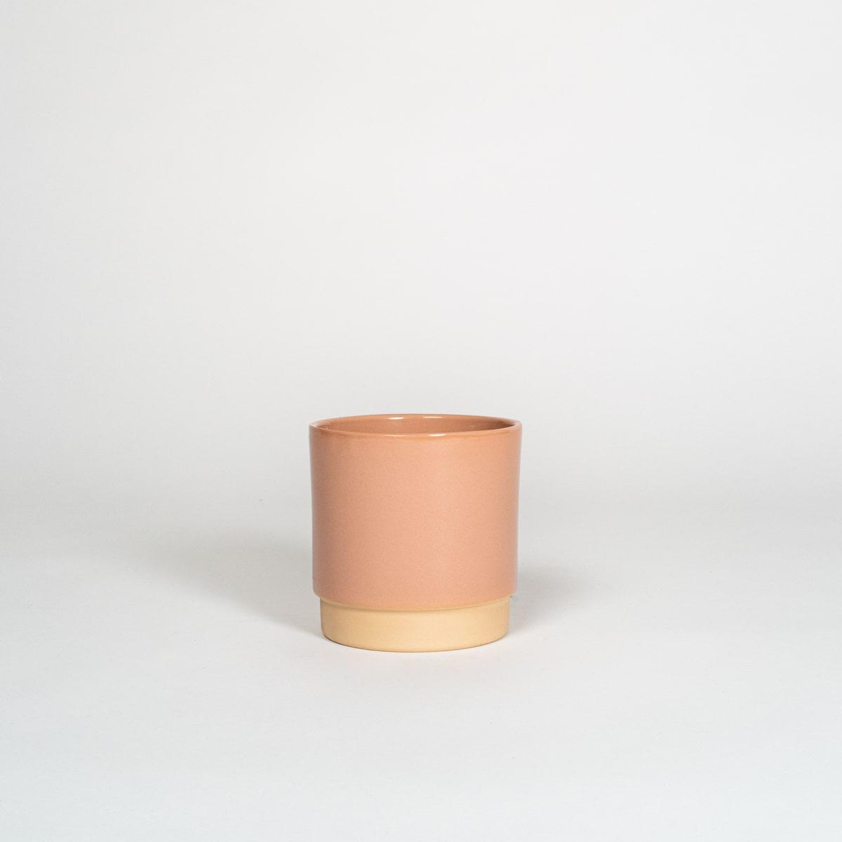 Bloom Flower Delivery | Dusky Pink Ceramic Plant Pot