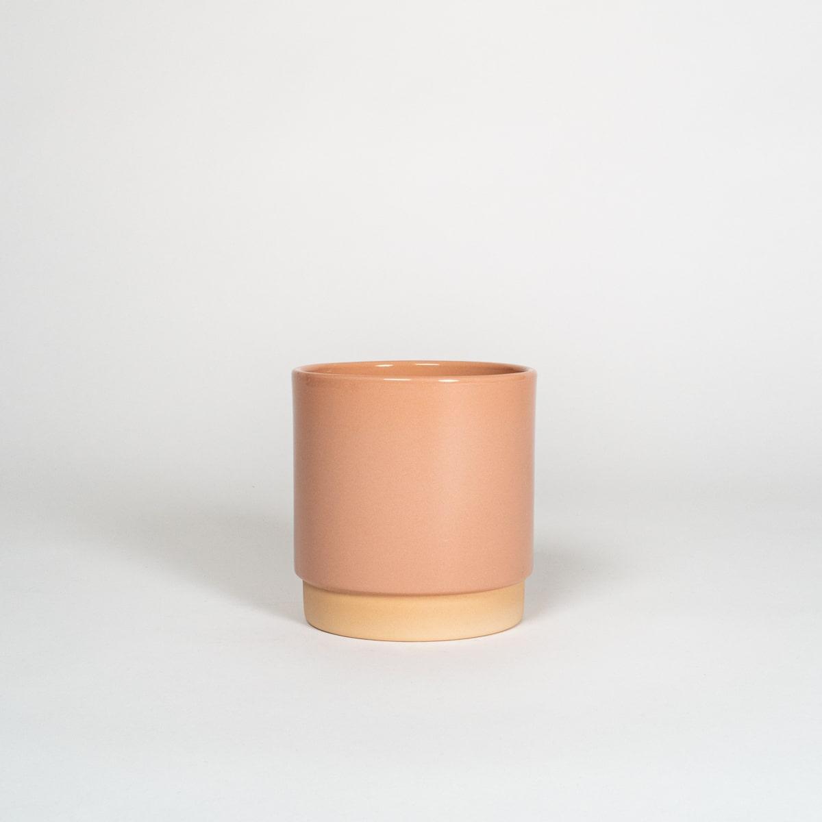 Bloom Flower Delivery | Large Dusky Pink Ceramic Plant Pot