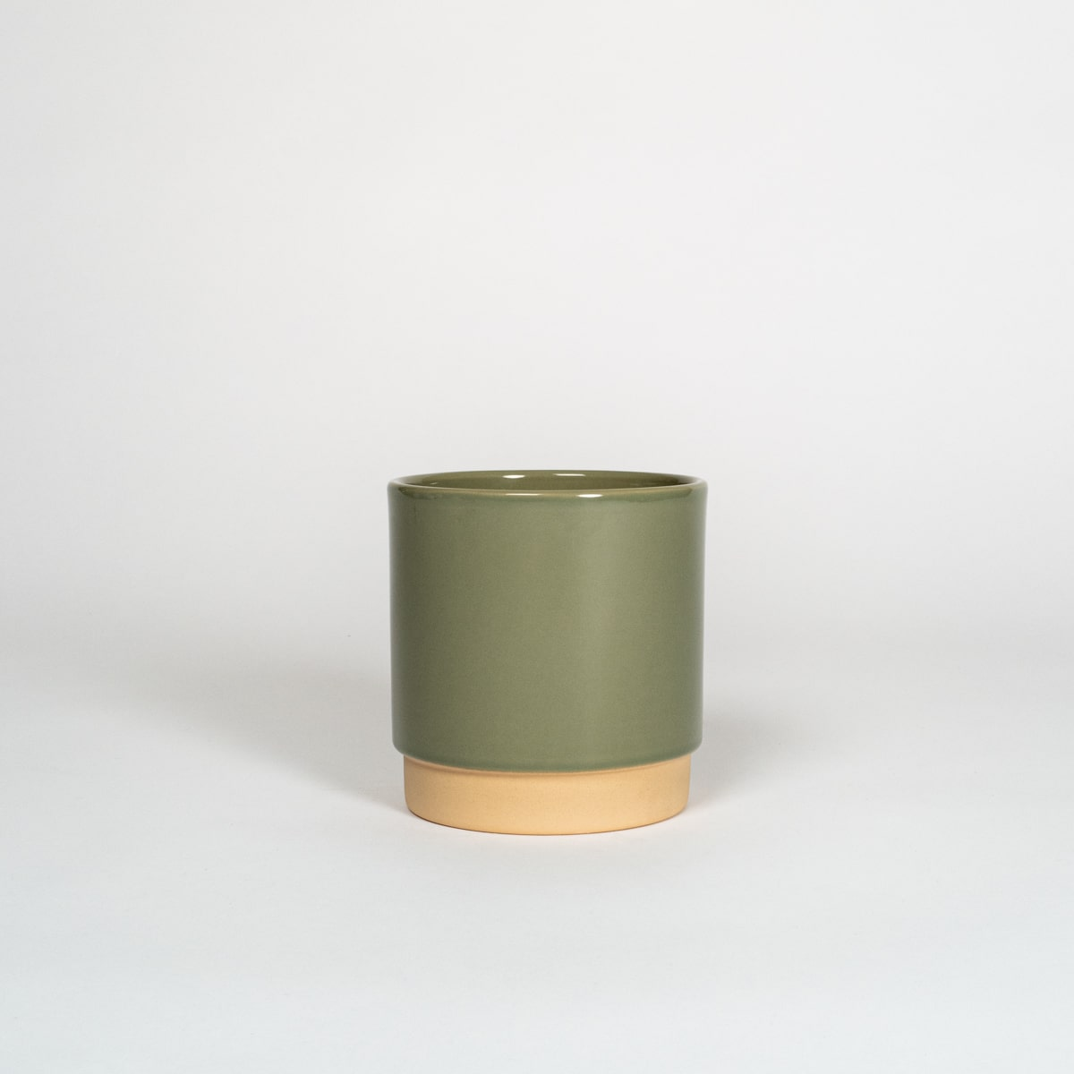 Bloom Flower Delivery | Large Sage Green Ceramic Plant Pot