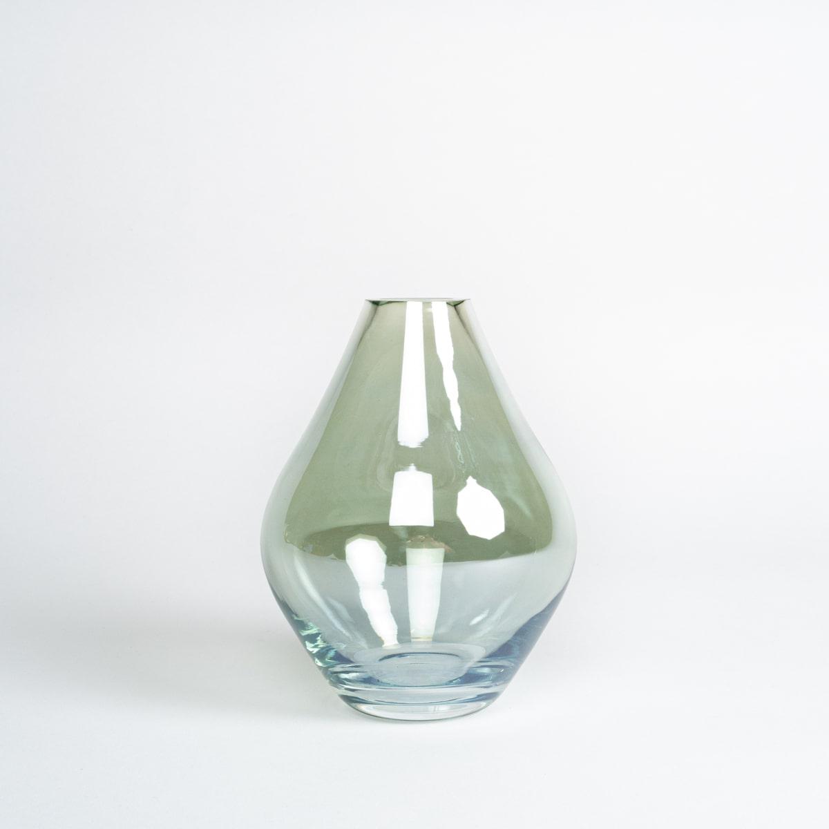 Bloom Flower Delivery | Green Glass Bud Vase