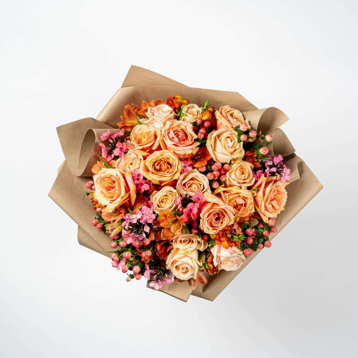 Bloom Flower Delivery | Coral Sunset Bouquet