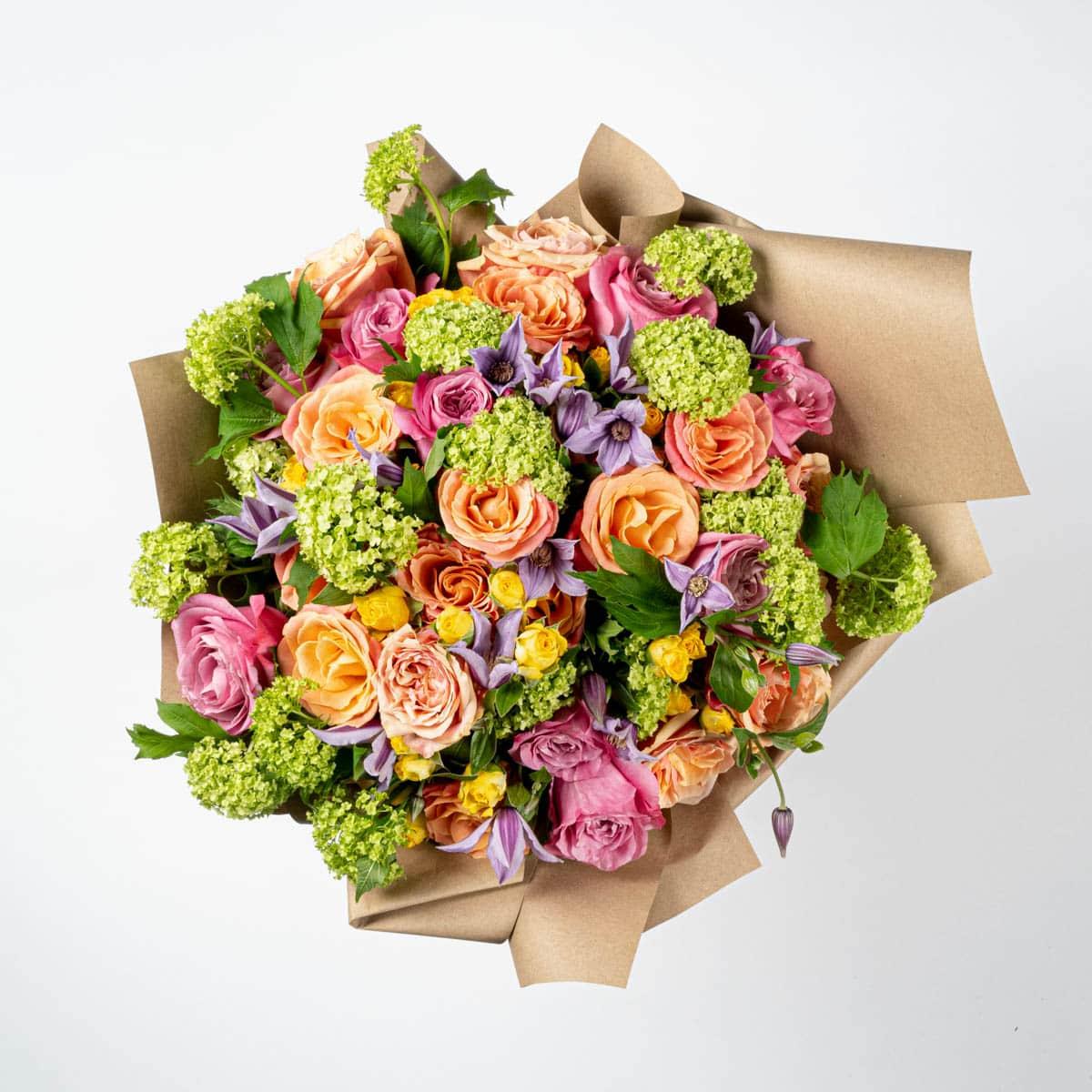 Bloom Flower Delivery | Summer Sunset Bouquet