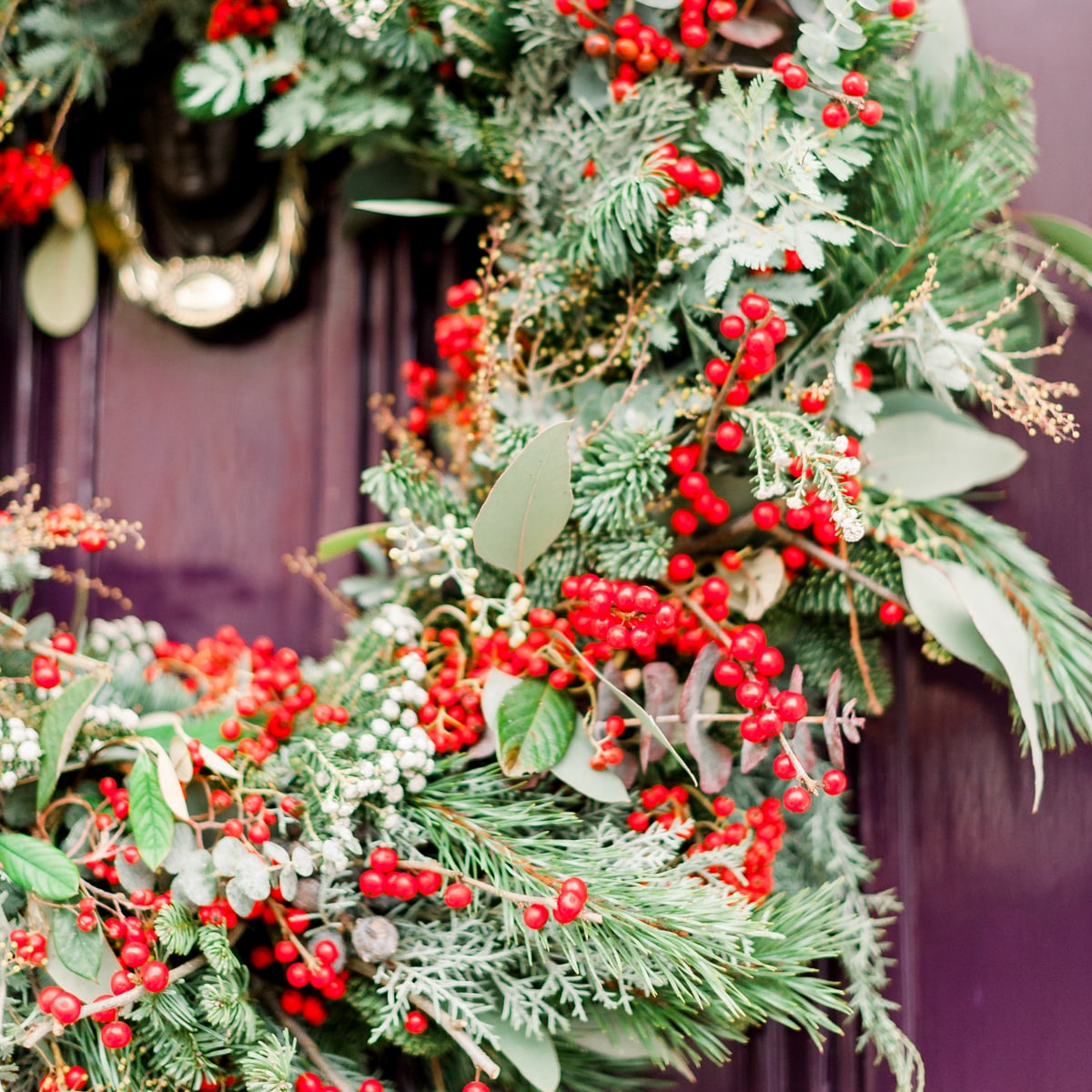 Bloom Flower Delivery | Winter Berry Wreath