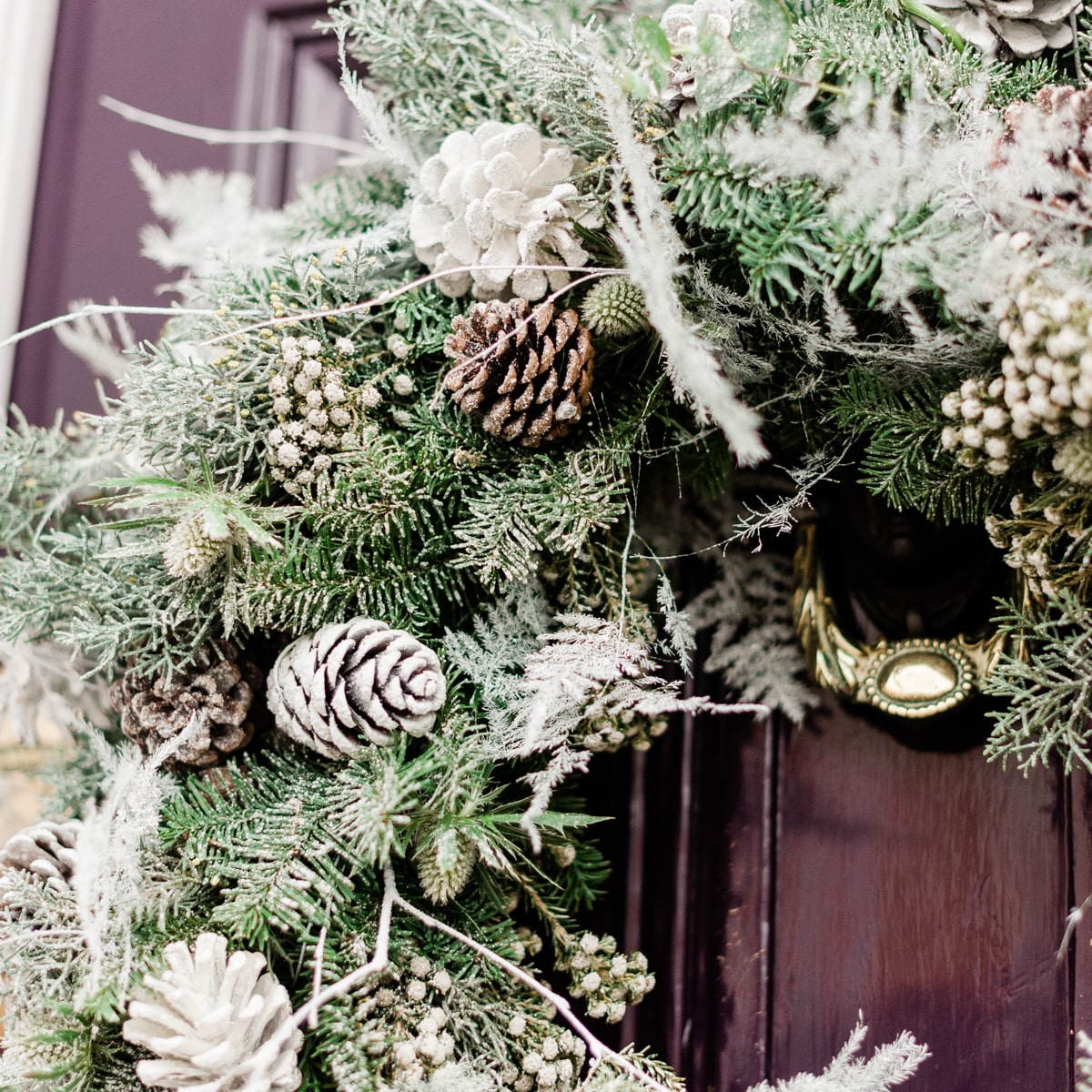 Bloom Flower Delivery | Winter's Morning Wreath