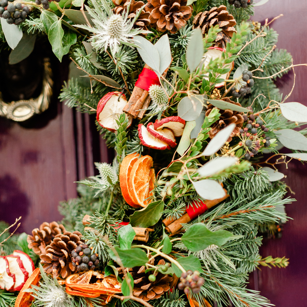 Bloom Flower Delivery | Mulled Festive Wreath
