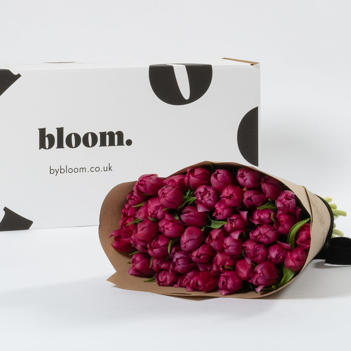 Bloom Flower Delivery | Berry Purple Tulips