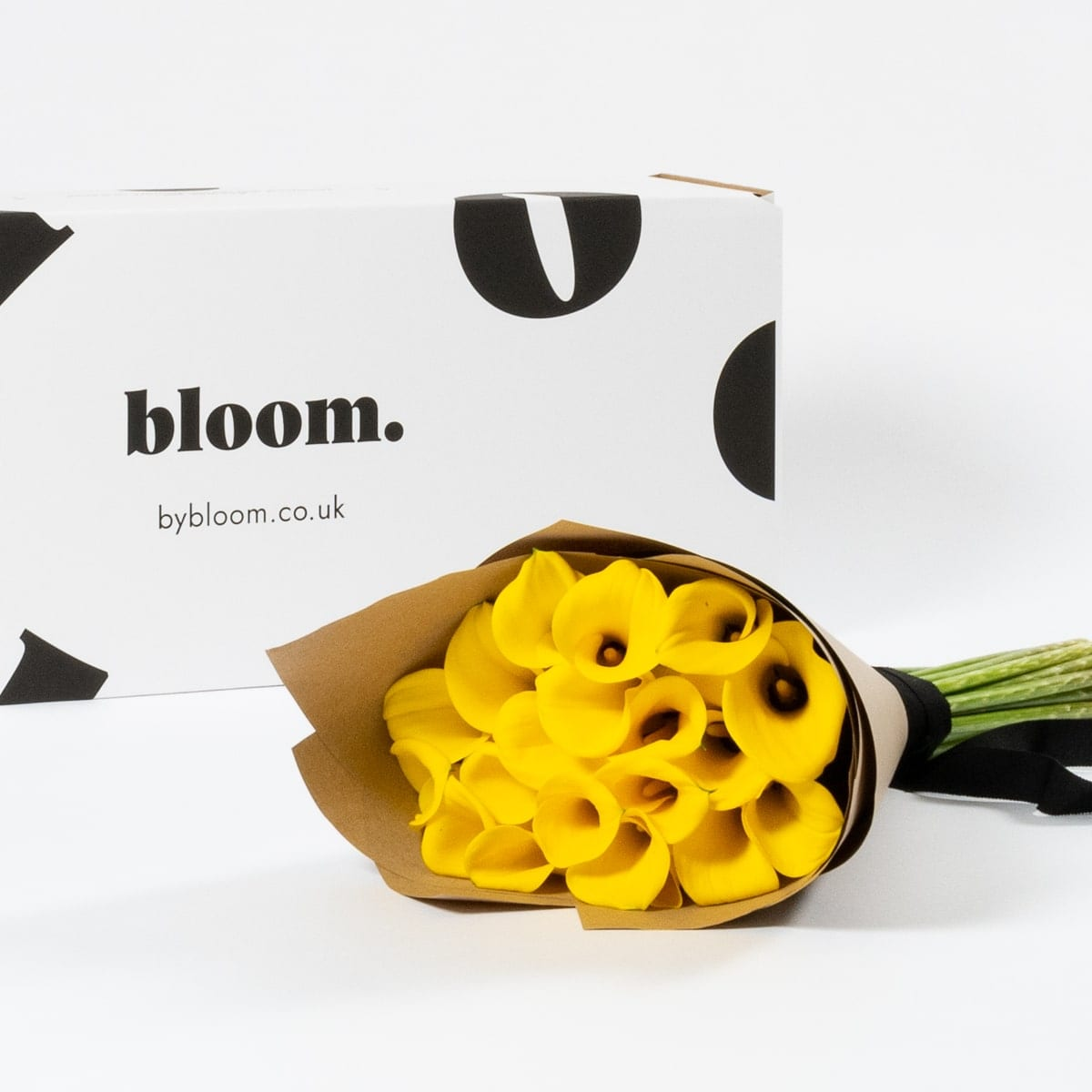 Bloom Flower Delivery | Goldfinch Yellow Calla Lily