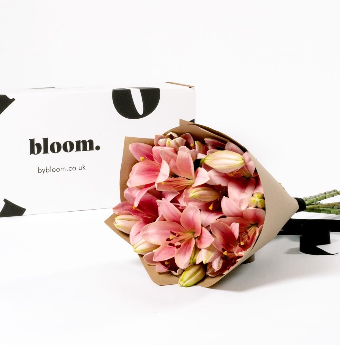 Bloom Flower Delivery | Ballet Slipper Pink Lily