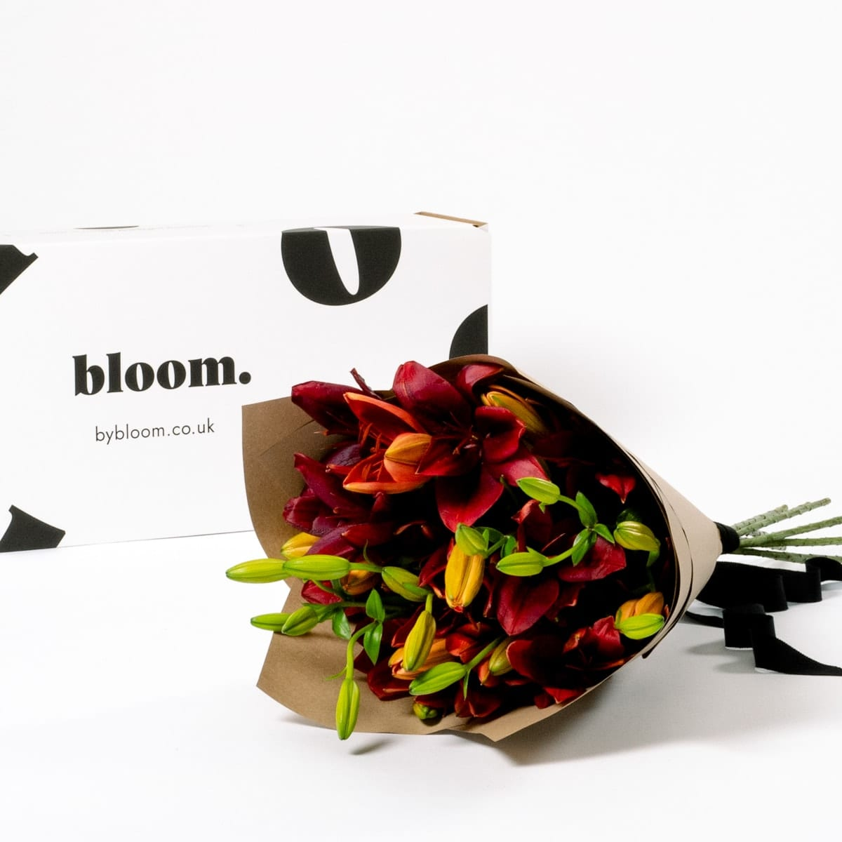Bloom Flower Delivery | Merlot Red Lily