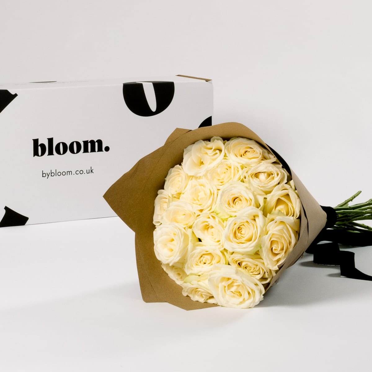 Bloom Flower Delivery | White Avalanche Roses