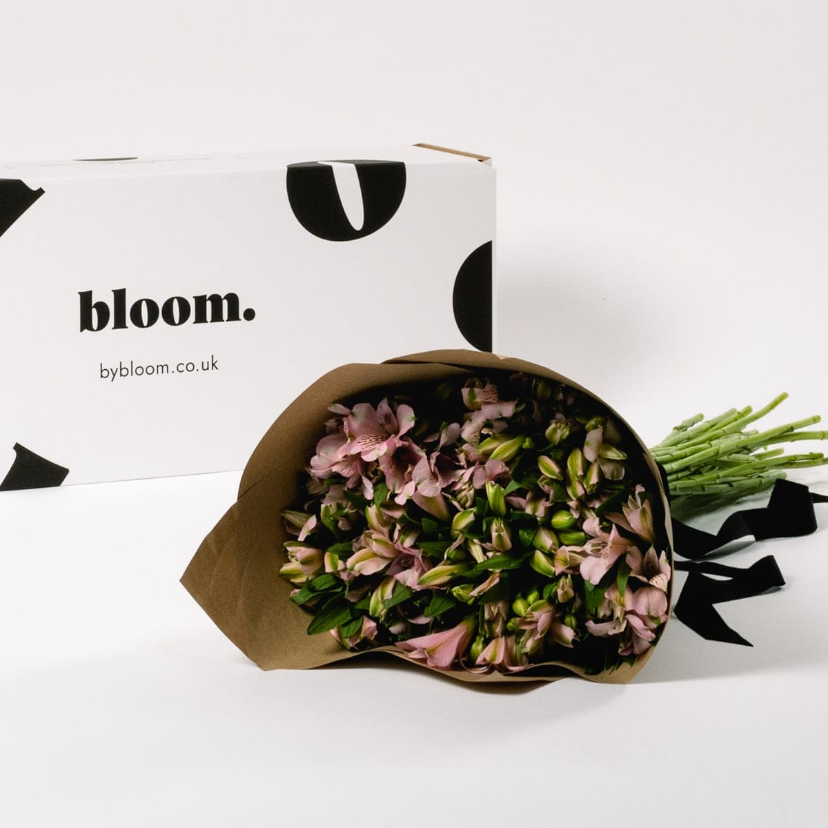 Bloom Flower Delivery | Powder Pink Alstroemeria