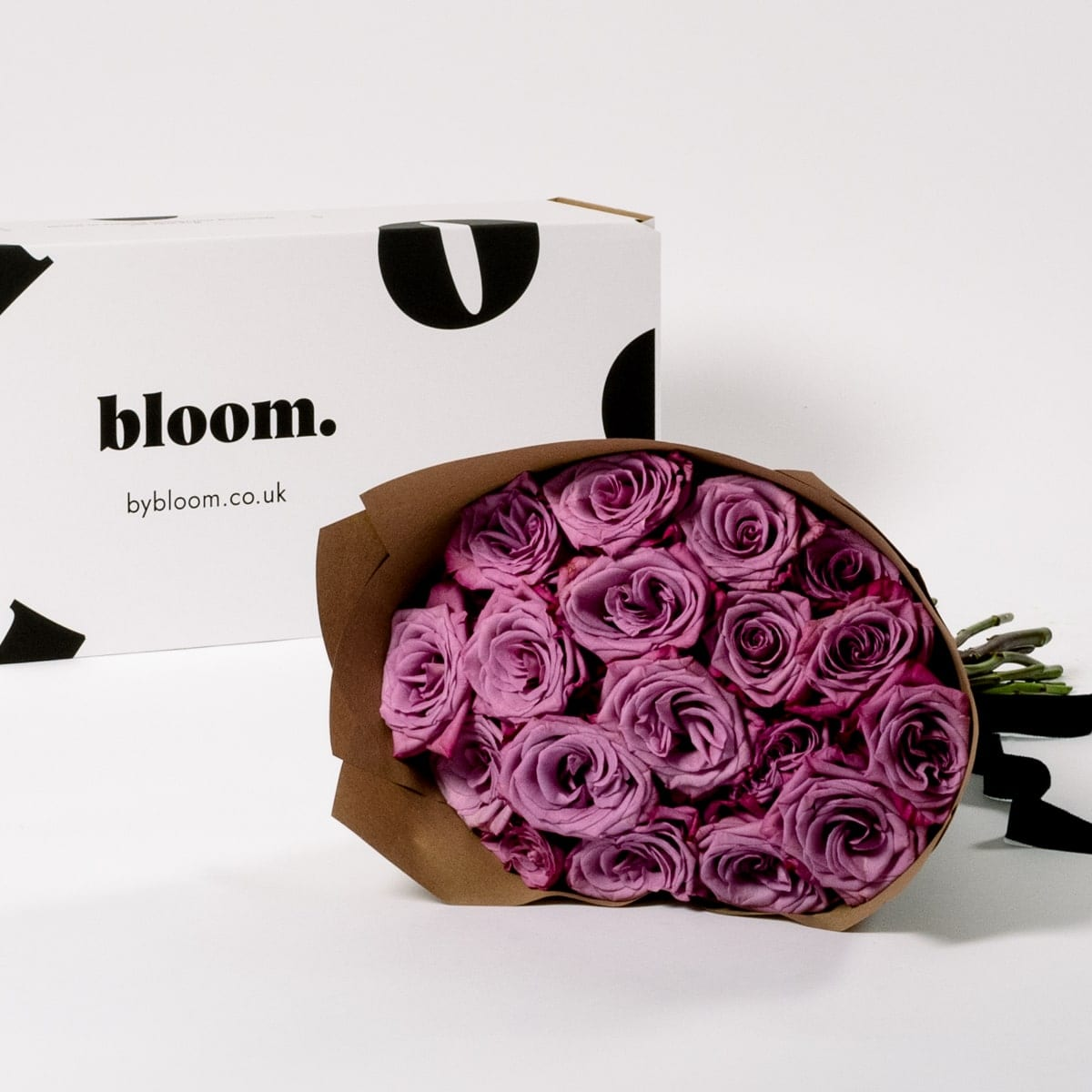 Bloom Flower Delivery | Muddled Grape Purple Roses