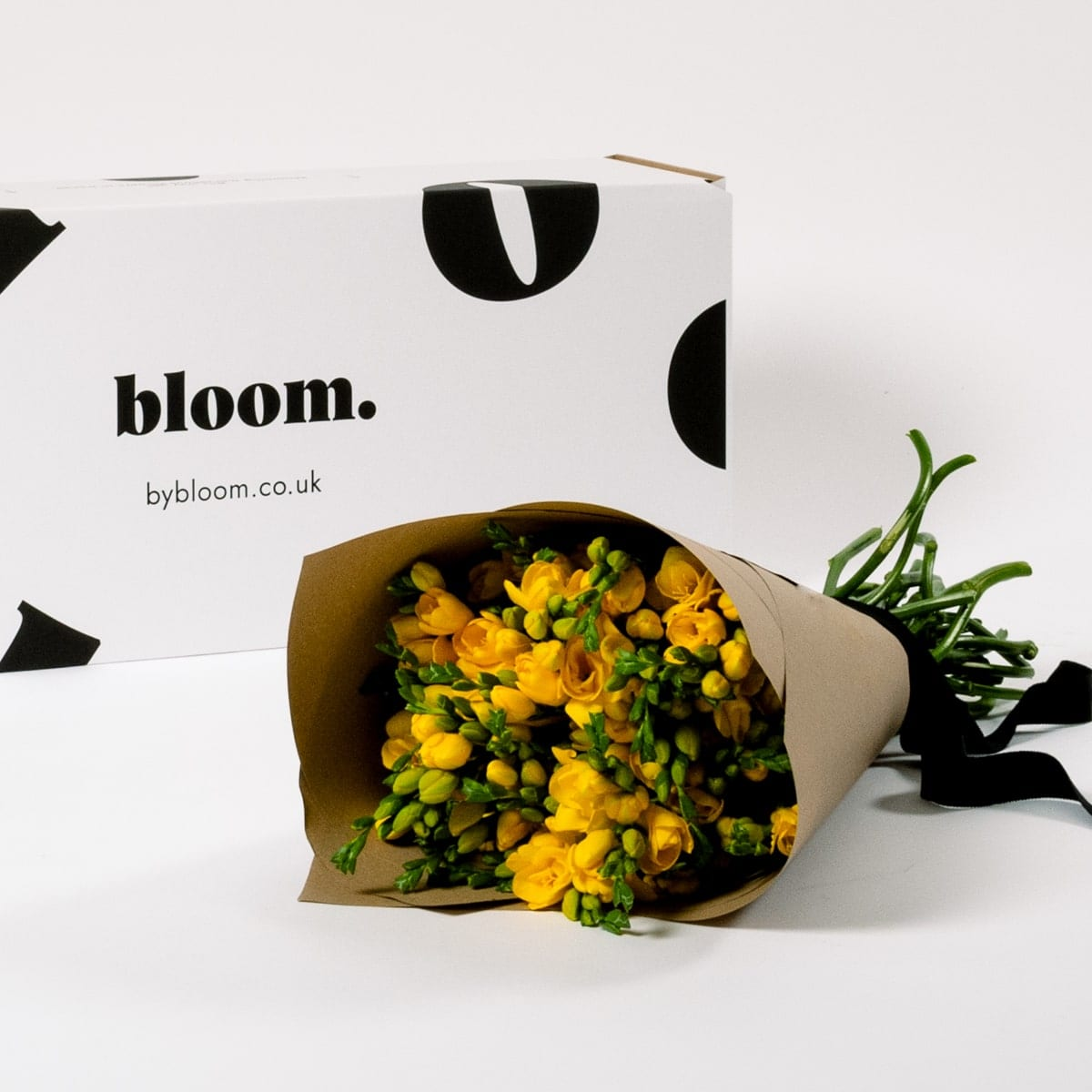 Bloom Flower Delivery | Goldfinch Yellow Freesia