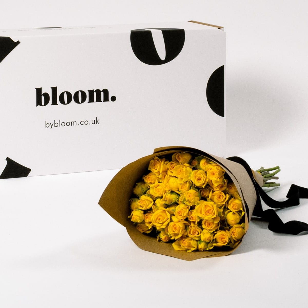 Bloom Flower Delivery | Lemon Zest Yellow Spray Roses