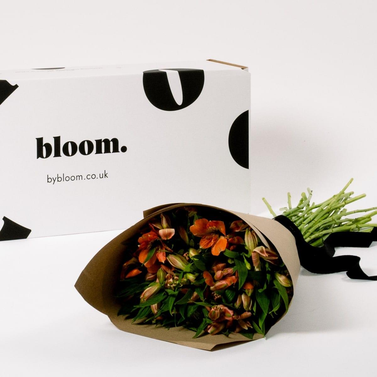 Bloom Flower Delivery | Orange Marmalade Alstroemeria