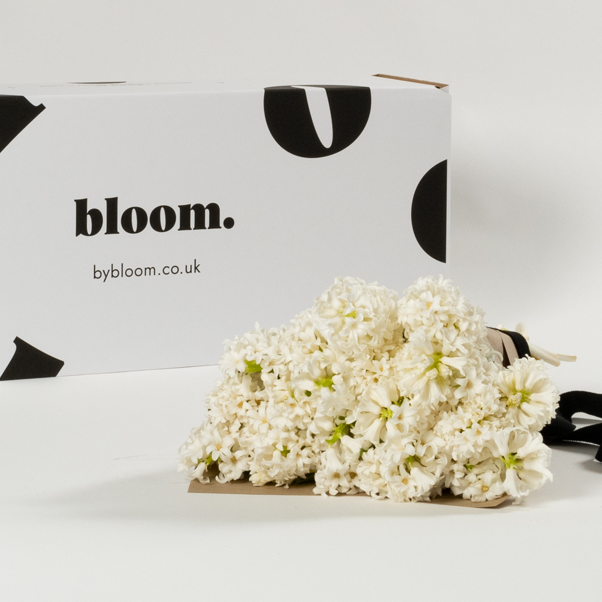 Bloom Flower Delivery | Arctic White Hyacinths