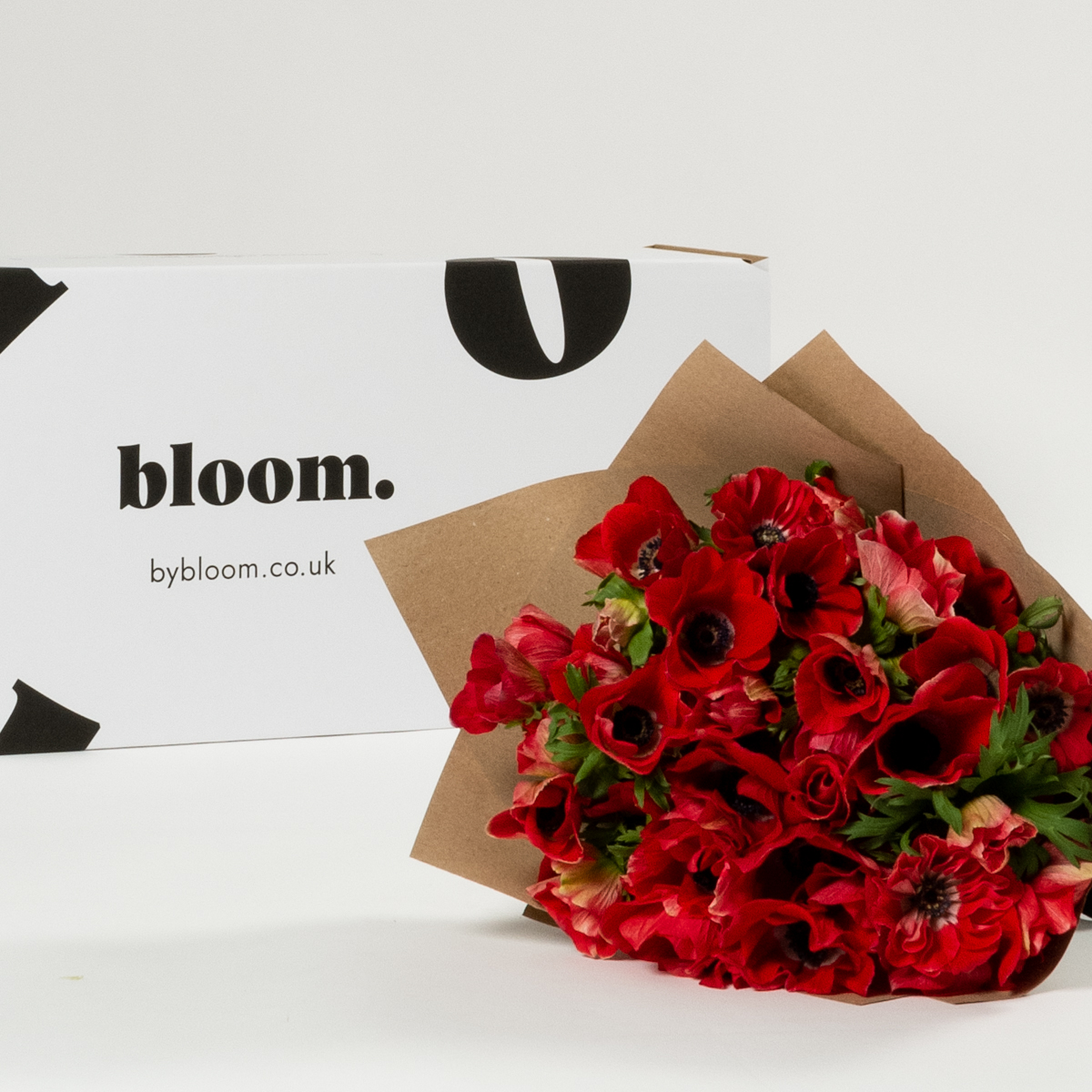 Bloom Flower Delivery | Royal Red Anemones