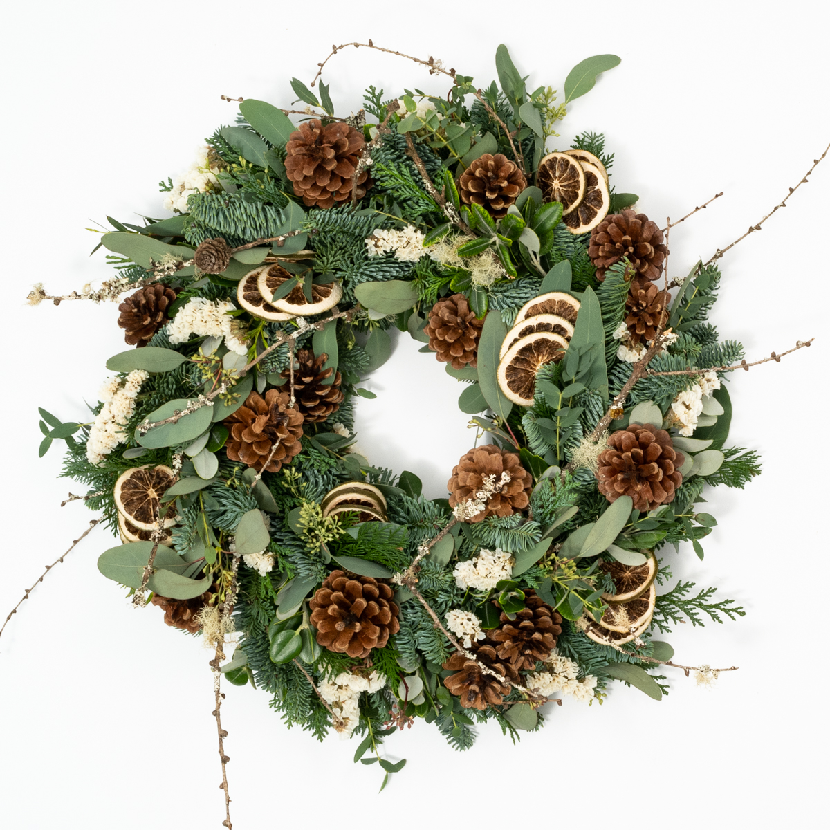 Bloom Flower Delivery | DIY Wreath Kit - Winter Forest