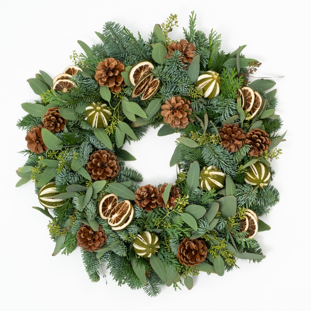Bloom Flower Delivery | DIY Wreath Kit - Mulled Winter