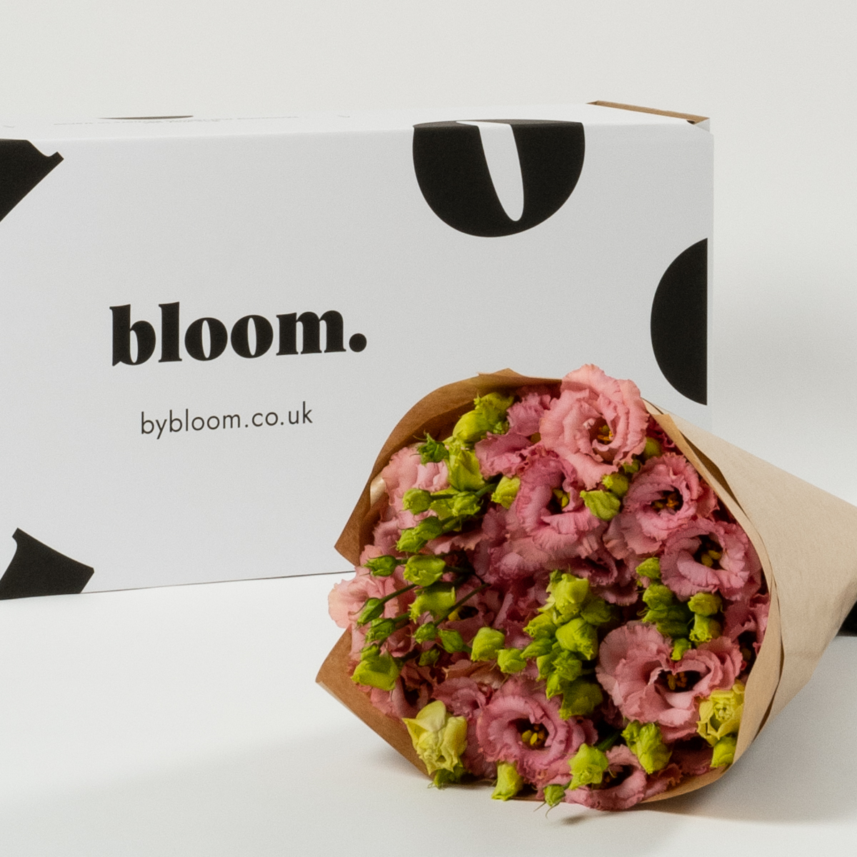Bloom Flower Delivery | Dusky Pink Lisianthus