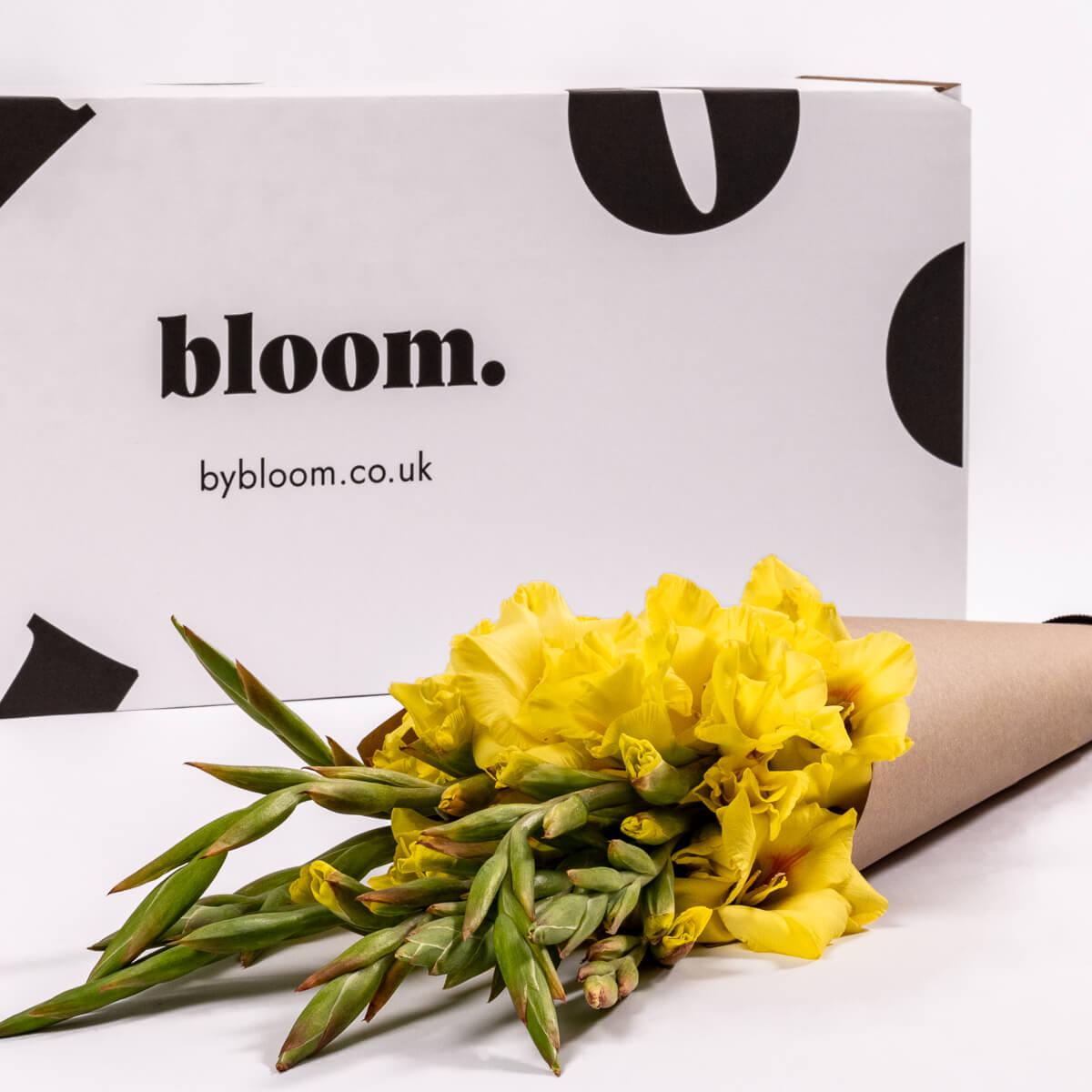 Bloom Flower Delivery | Goldfinch Yellow Gladioli