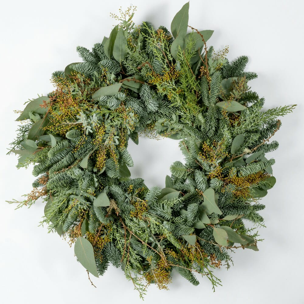 Bloom Flower Delivery | All Green Wreath